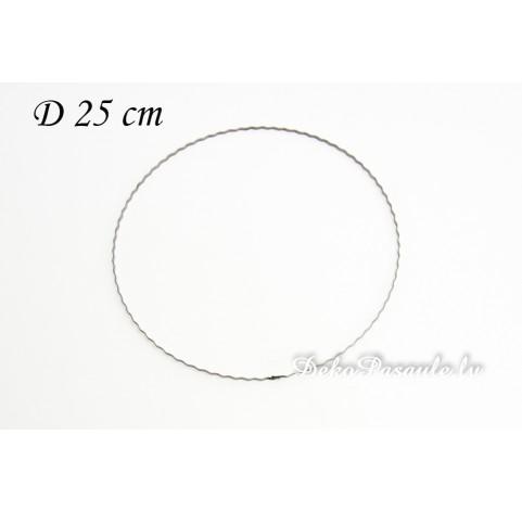 Metal ring, ribbed, Ø 25 cm