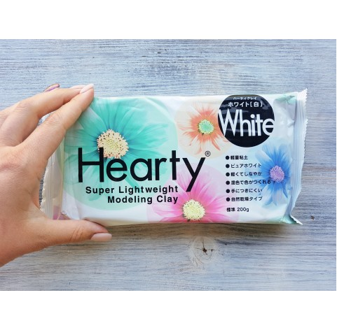 Padico modeling clay Hearty, white, 200 g