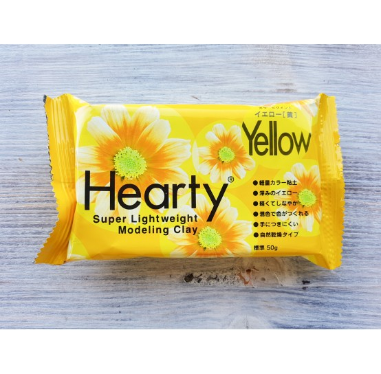 Padico modeling clay Hearty, yellow, 50 g