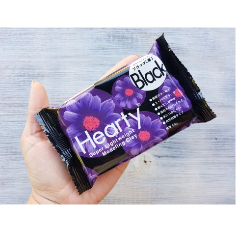 Padico modeling clay Hearty, black, 50 g