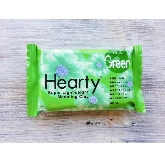 Padico modeling clay Hearty, green, 50 g