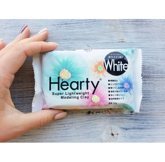 Padico modeling clay Hearty, white, 50 g