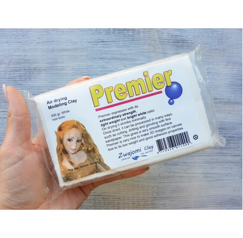 Padico La Doll Premier modeling clay, white, 300 g