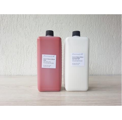 Silicone on platinum catalyst, Zhermack ZA 32 LT ROSSO (food grade), terakota, 2 kg