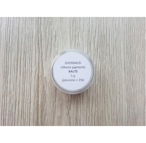 Silicone pigment on platinum catalyst, white, 5 g