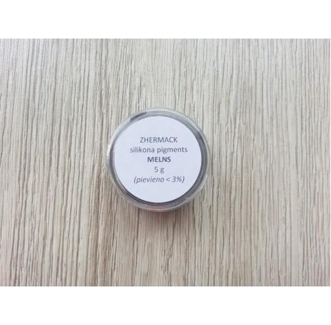Silicone pigment on platinum catalyst, black, 5 g