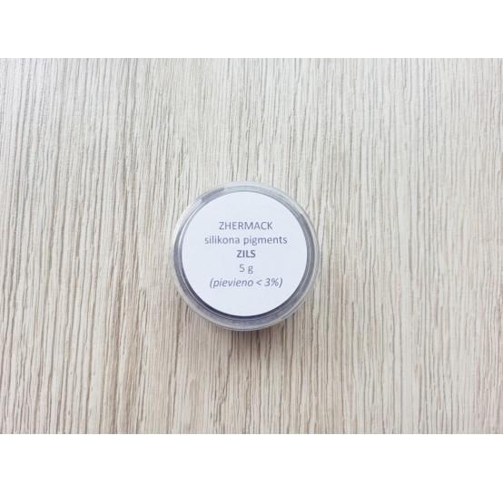 Silicone pigment on platinum catalyst, blue, 5 g
