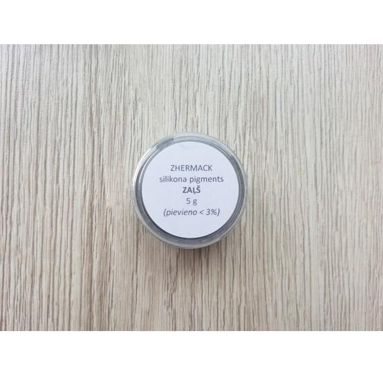 Silicone pigment on platinum catalyst, green, 5 g