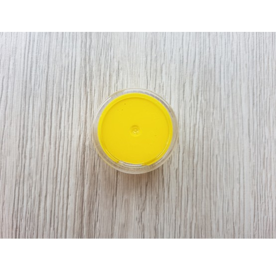 Silicone pigment on platinum catalyst, yellow, 5 g
