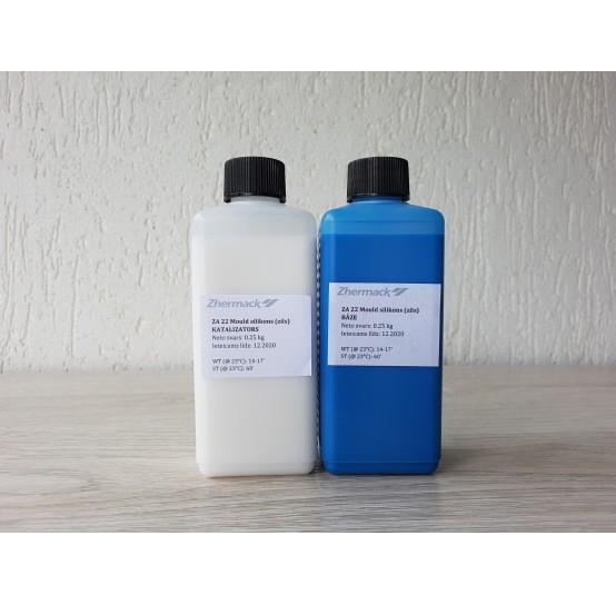 Silicone on platinum catalyst, Zhermack ZA 22 MOULD, blue, 500 g