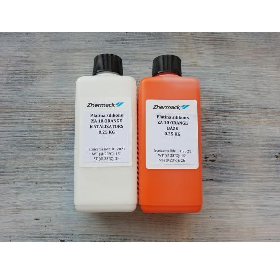 Silicone on platinum catalyst, Zhermack ZA 10, orange, 500 g