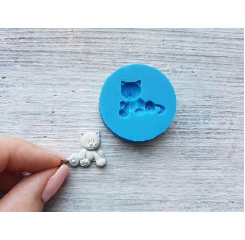 Silicone mold, cat, ~ 1.7*2.3 cm