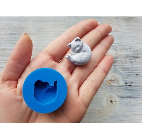 Silicone mold, cat 2, ~ 2.5*2.3 cm (3d)