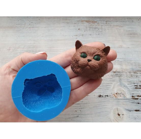 Silicone mold, big cat, ~ 4.3*3.9 cm