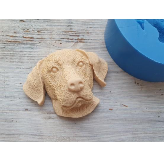 Silicone mold, dog, labrador, ~ 4.5*5.5 cm