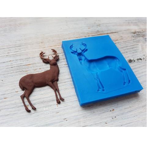 Silicone mold, elk, ~ 4.2*6.4 cm