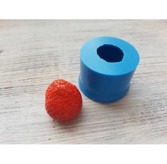 Silicone mold whole strawberry, 1 berry, XXL, ~ Ø 2.6 cm