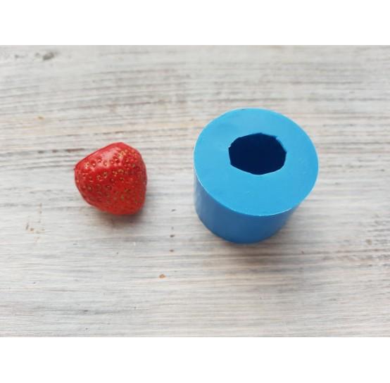 Silicone mold whole strawberry, 1 berry, L, ~ Ø 2.3 cm
