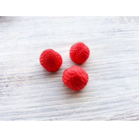 Silicone mold whole strawberry, 1 berry, M, ~ Ø 1.5 cm