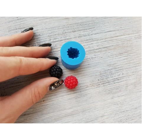 Silicone mold berries - raspberry, blackberry, ~ Ø 1.5 cm
