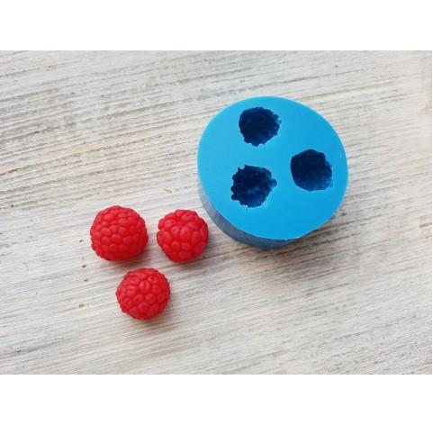 Silicone mold raspberry, 3 berries, L, ~ Ø 1.6-1.8 cm