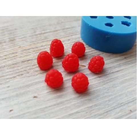 Silicone mold mini raspberry, 7 berries, ~ Ø 0.5-0.7 cm