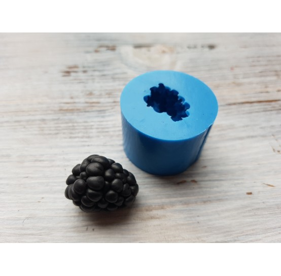 Silicone mold blackberry, natural to the side, 1 berry, ~ Ø 2-2.1 cm