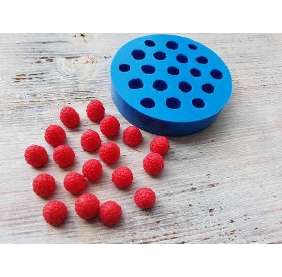 Silicone mold raspberry, 19 berries, ~ Ø 1.3-1.5 cm
