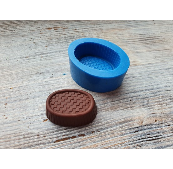 Silicone mold, chocolate candy 9, ~ 2.8*3.5 cm