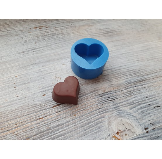 Silicone mold, candy heart 2, ~ 2.9*3.2 cm