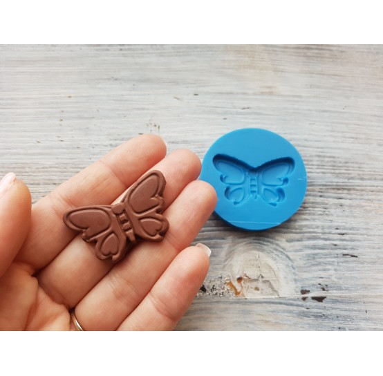 Silicone mold, chocolate candy butterfly, ~ 3.9 cm