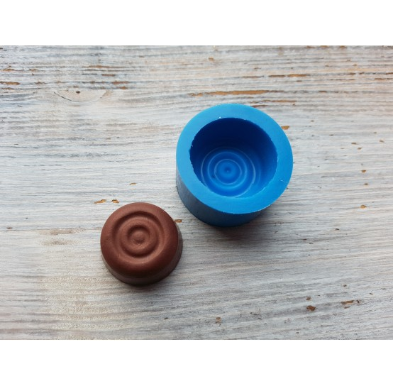Silicone mold, chocolate candy 19, ~ 2.5 cm