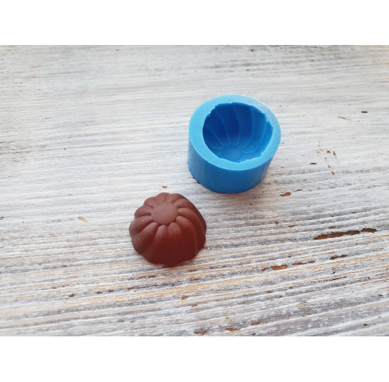Silicone mold, small chocolate candy, ~ 2.1 cm