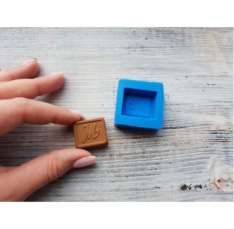 "Silicone mold, chocolate ""M"", ~ 2.6 cm"