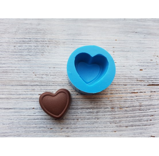 Silicone mold, chocolate candy heart, ~ 2.7*2.9 cm