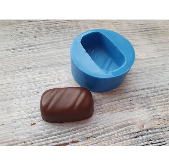Silicone mold, rectangular chocolate candy, ~ 3.3 cm