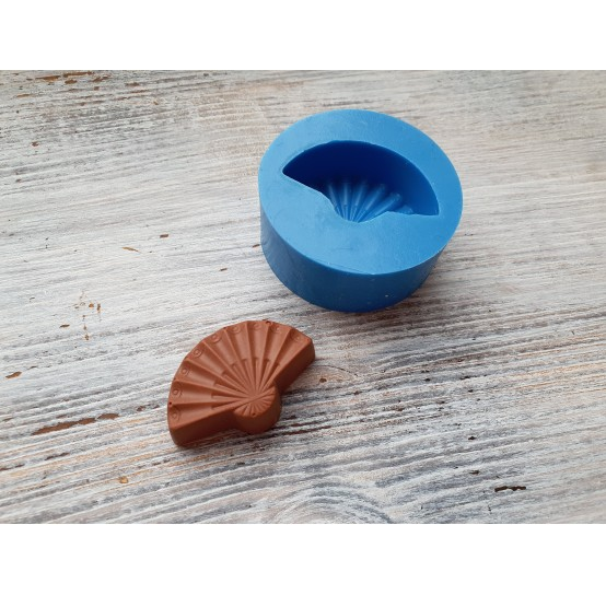 """Silicone mold, chocolate candy """"G"""", ~ 3.9 cm"""