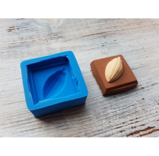 Silicone mold chocolate slice 3, ~ 3.6*3.6 cm
