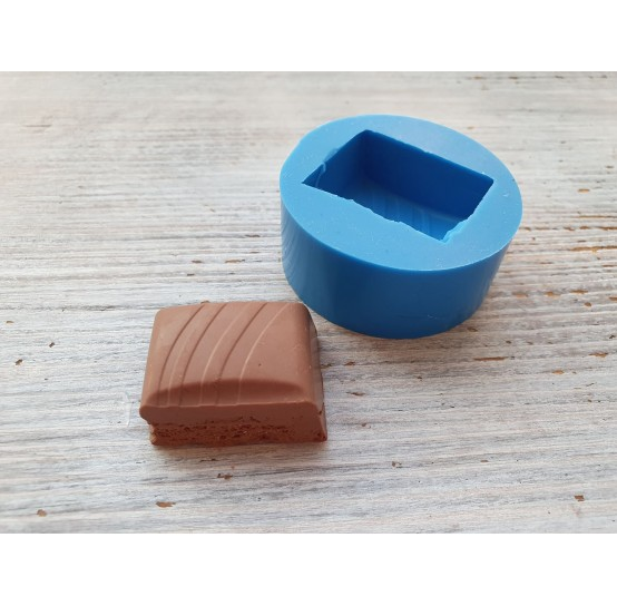 Silicone mold chocolate slice 7, ~ 3.2*2.3 cm