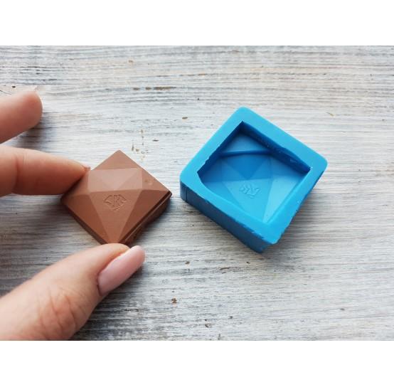 "Silicone mold, chocolate ""diamond"", ~ 3 cm"