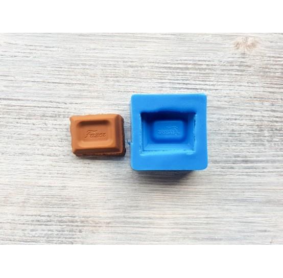 "Silicone mold classic chocolate ""F"", ~ 3 cm"