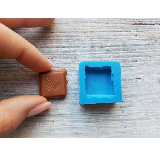 Silicone mold chocolate slice, ~ 2.2 cm