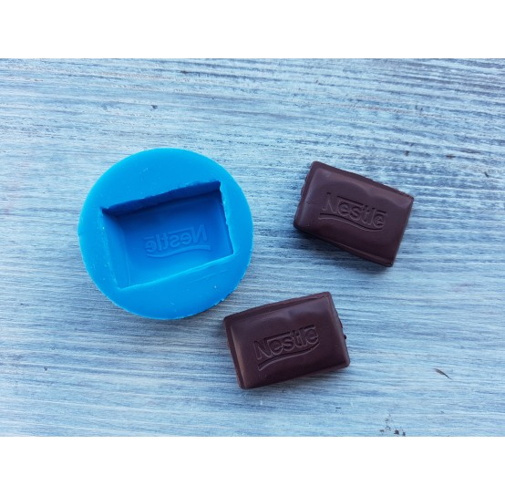"""Silicone mold chocolate """"N"""", ~ 2.9 cm"""