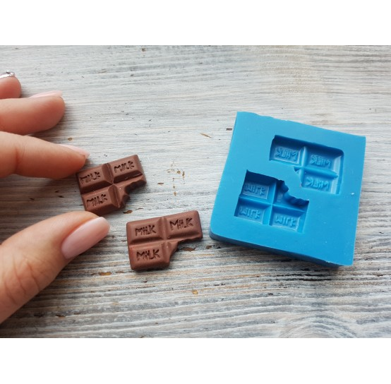 Silicone mold, small set of chocolate, ~ 2.5*1.8 cm