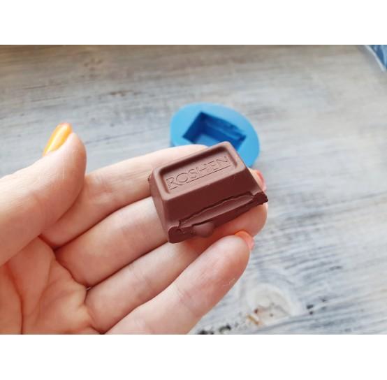 "Silicone mold chocolate ""R"" big, ~ 3.3 cm"