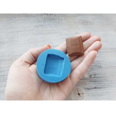 Silicone mold chocolate with a crown, ~ 3.2 cm