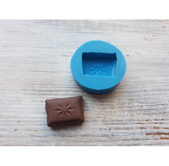 Silicone mold chocolate slice 1, ~ 1.9*2.5 cm
