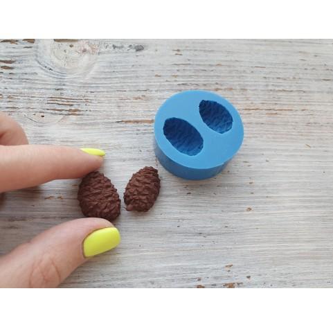 Silicone mold, cone, 2 pcs., ~ 1.8*1.3 cm
