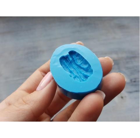 Silicone mold, pecan nut, ~ 1.6*3 cm
