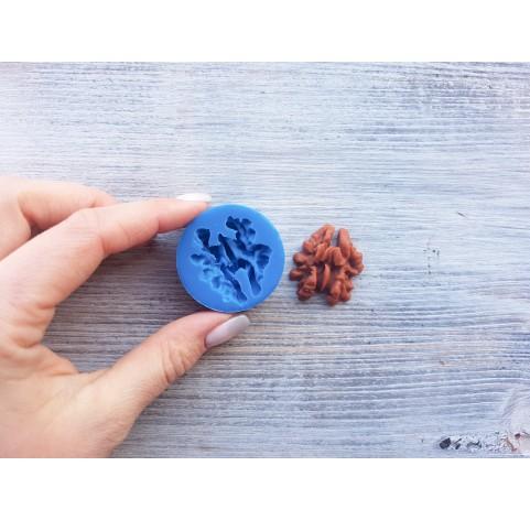 Silicone mold, walnut, ~ 2.9*3.3 cm